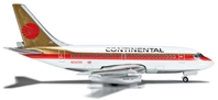 Continental 737-100 (1:500), Herpa 1:500 Scale Diecast Airliners Item Number HE523981