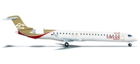 Libyan Airlines CRJ-900 (1:500) 5A-LAL, Herpa 1:500 Scale Diecast Airliners Item Number HE524001