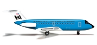 Braniff BAC-111-200 (1:500) Blue, Herpa 1:500 Scale Diecast Airliners Item Number HE524087