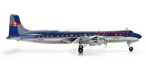 Flying Bulls DC-6B (1:200), Herpa 1:200 Scale Diecast Airliners Item Number HE554077