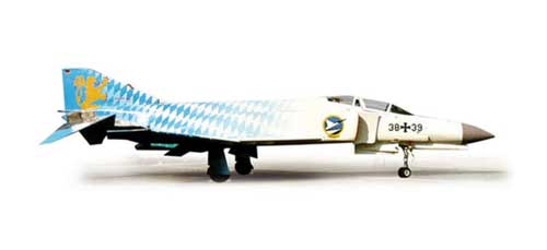 Luftwaffe F4F Phantom II JG74 40 Jahre Molders (1:200), Herpa 1:200 Scale Diecast Airliners Item Number HE554107