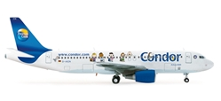 "Condor A320 ""Peanuts Livery"" (1:200), Herpa 1:200 Scale Diecast Airliners Item Number HE554206"
