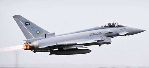 Royal Saudi Air Force Eurofighter (1:200), Herpa 1:200 Scale Diecast Airliners Item Number HE554343