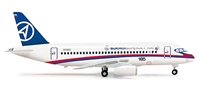 Sukhoi SSJ100 (1:200) Superjet 100, Herpa 1:200 Scale Diecast Airliners Item Number HE554862