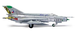 "Czech Air Force Mikoyan MiG-21MF 211. TL ""MiG-21 farewell"" (1:200), Herpa 1:200 Scale Diecast Airliners Item Number HE554930"