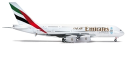 Emirates A380-800 (1:200), Herpa 1:200 Scale Diecast Airliners Item Number HE555432-001