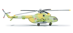Mil MI-8T, Poland Army Aviation, 25th Air Cavalry Brigade, 37th Air Squadron (1:200), Herpa 1:200 Scale Diecast Airliners Item Number HE555623