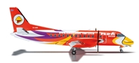 NOK Mini SF-340 (1:200) Orange REG#HS-GBE, Herpa 1:200 Scale Diecast Airliners Item Number HE556095