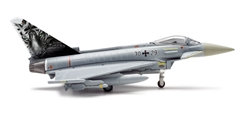 Luftwaffe Eurofighter Typhoon (1:200) Bavarian Tigers, Herpa 1:200 Scale Diecast Airliners Item Number HE556514