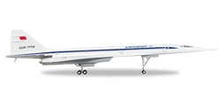 Aeroflot Tupolev TU-144D (1:200) by Herpa 1:200 Scale Diecast Airliners