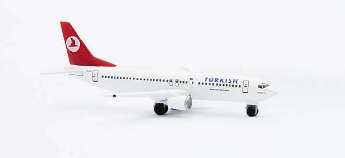"Turkish B737-400 ""ANTALYA"" (1:500), Herpa 1:500 Scale Diecast Airliners Item Number HE501316"