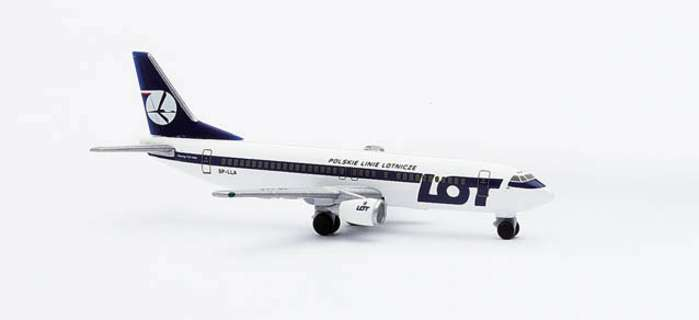 Lot B737-400 70TH Anniversary (1:500), Herpa 1:500 Scale Diecast Airliners Item Number HE501330