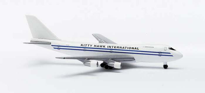Kitty Hawk B747-200F (1:500), Herpa 1:500 Scale Diecast Airliners Item Number HE502641
