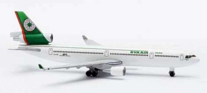 Eva MD-11 (1:500), Herpa 1:500 Scale Diecast Airliners Item Number HE503419