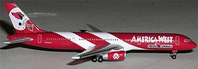 America West 757-200 Cardinals (1:500), Herpa 1:500 Scale Diecast Airliners Item Number HE503884