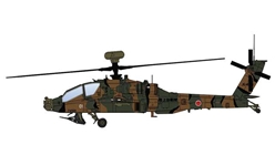 AH-64D Longbow Die Cast Model JG-4501, JGSDF, 2010s (1:72) by Hobby Master Diecast Airplanes Item Number: HH1205