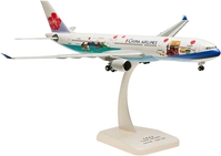 "China A330-300 With Gear ""Welcome To Taiwan"" B-18355 (1:200), Hogan Wings Collectible Airliner Models Item Number HG0151G"