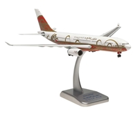 Gulf Air A330-200 (1:200) with Gear, 50TH Anniversary A40-KF, Hogan Wings Collectible Airliner Models Item Number HG0465G