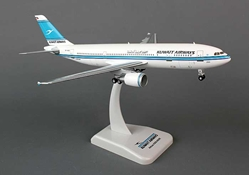 Kuwait A300-600R (1:200) with Gear 9K-AMB, Hogan Wings Collectible Airliner Models Item Number HG0533G
