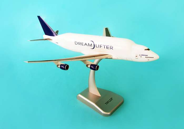Boeing 747LCF (1:200) W/Gear, Hogan Wings Collectible Airliner Models Item Number HG3480G