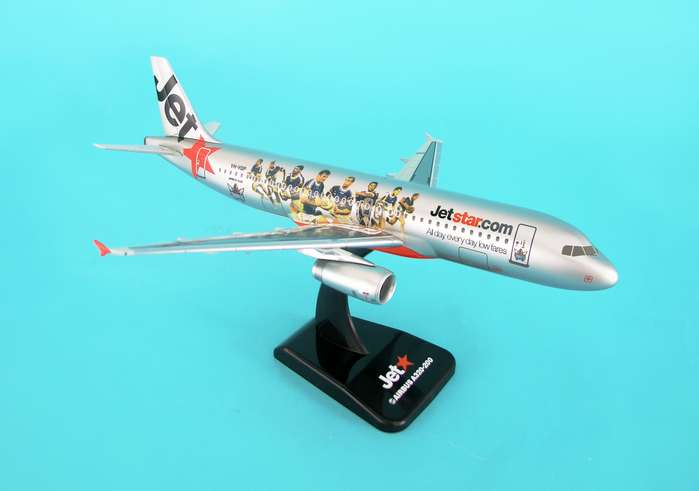 "Jetstar A320 ""Titans Rugby Livery"" (1:200) W/Gear, Hogan Wings Collectible Airliner Models Item Number HG3886G"