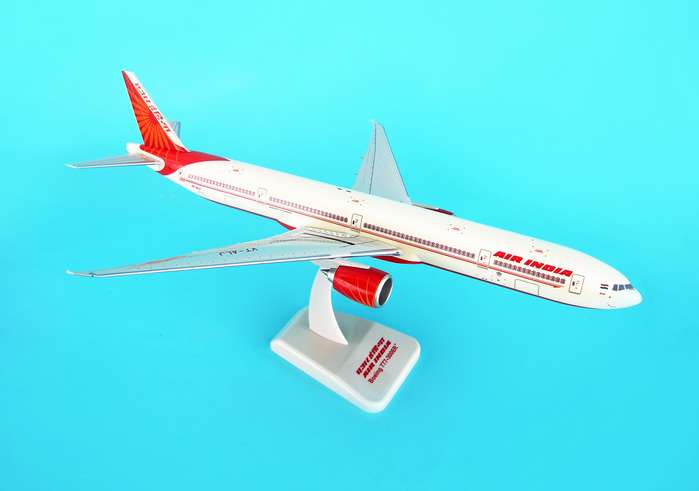 Air India 777-300ER (1:200) W/Gear, Hogan Wings Collectible Airliner Models Item Number HG3947G