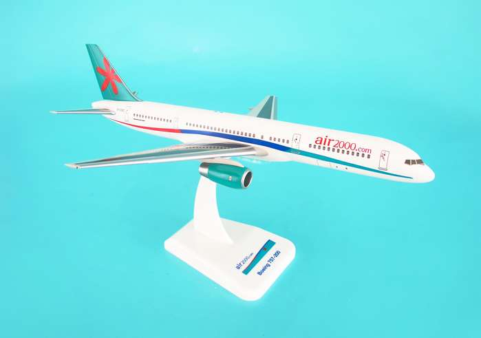 Air 2000 757-200 W/Gear, Hogan Wings Collectible Airliner Models Item Number HG3954G