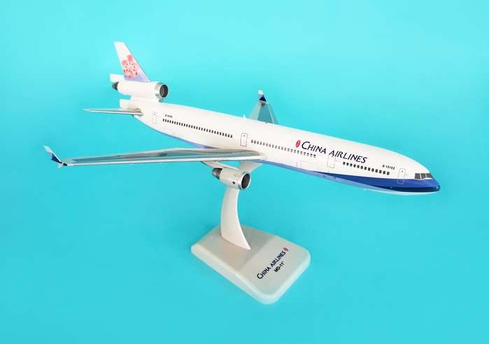 China Airlines MD-11 (1:200) W/Gear, Hogan Wings Collectible Airliner Models Item Number HG3992G