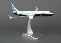 Boeing 737-800MAX House Colors (1:200) With Gear & Winglets, Hogan Wings Collectible Airliner Models Item Number HG4531G