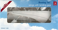 787 (Hogan Wings) Straight Wing Conversion Kit (1:200), Hogan Wings Collectible Airliner Models Item Number HG5118