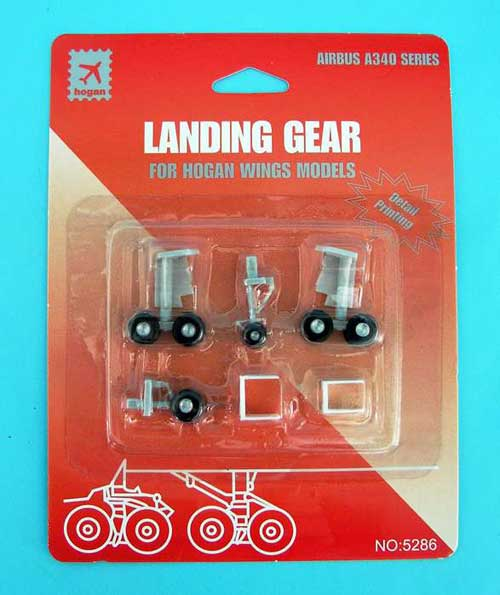 Landing Gear for Hogan A340 (1:200), Hogan Wings Collectible Airliner Models Item Number HG5286