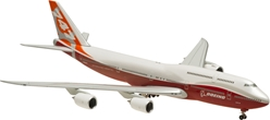 Boeing House 747-8 Rollout Colors (1:400) Ground Configuration, Registration: N6067E, Hogan Wings Collectible Airliner Models Item Number HG5415