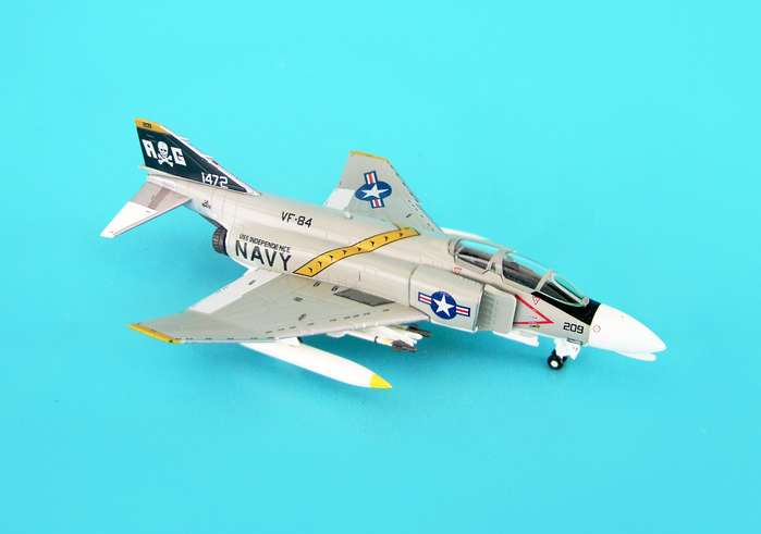 F-4B USN VF84 Jolly Rogers Uss Independence (1:200), Hogan Wings Collectible Airliner Models Item Number HG6481