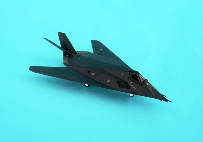 F-117A USAF Holloman Afb 49TH Fw Forty Niners (1:200), Hogan Wings Collectible Airliner Models Item Number HG6504