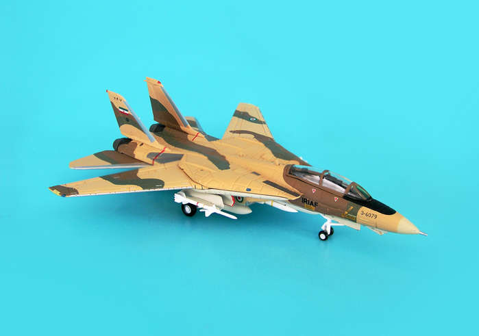 F-14A Iranian Air Force ALI-CAT SER#3-6079 (1:200), Hogan Wings Collectible Airliner Models Item Number HG6627