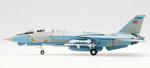 Iranian Air Force F-14A ALI-CAT Serial 3-6024 (1:200), Hogan Wings Collectible Airliner Models Item Number HG6634