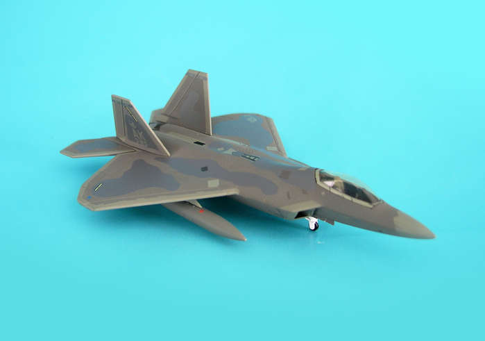 F-22A USAF 3RD Fw Elmendorf Afb Tail Code AK3 (1:200), Hogan Wings Collectible Airliner Models Item Number HG6825