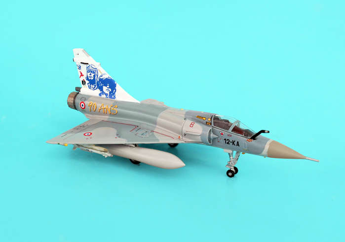 Mirage 2000C 12-KA90 Ans EC2/12 Picardie (1:200), Hogan Wings Collectible Airliner Models Item Number HG7204