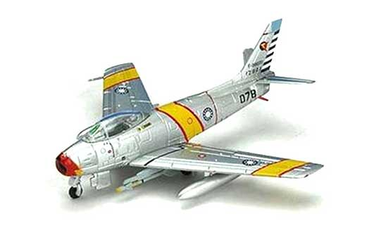 F-86F-40 ROCAF 11rh TFG 44th TFS 12901 (1:200), Hogan Wings Collectible Airliner Models Item Number HG7402
