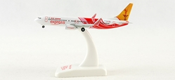 Air India Express 737-800 -VT-AXD (1:500), Hogan Wings Collectible Airliner Models Item Number HG8041