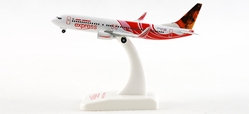 Air India Express 737-800 REG#VT-AXG  (1:500), Hogan Wings Collectible Airliner Models Item Number HG8072