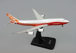 "Boeing 747-8 Rollout Livery W/Stand ""Sunrise Livery""  (1:500), Hogan Wings Collectible Airliner Models Item Number HG8874"