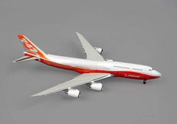 "Boeing 747-8 Rollout Livery w/ stand ""Sunrise Livery"" (1:500), Hogan Wings Collectible Airliner Models Item Number HG8904"