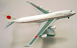 Japan Self Defense B747-400 (1:200), Hogan Wings Collectible Airliner Models Item Number HG2513G