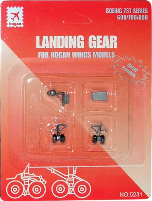 Landing Gear for Hogan B737-600/700/800 (1:200), Hogan Wings Collectible Airliner Models Item Number HG5231