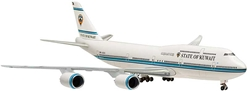 State Of Kuwait 747-8 (1:500) 9K-GAA Unflexed Wings, Hogan Wings Collectible Airliner Models Item Number HG5514