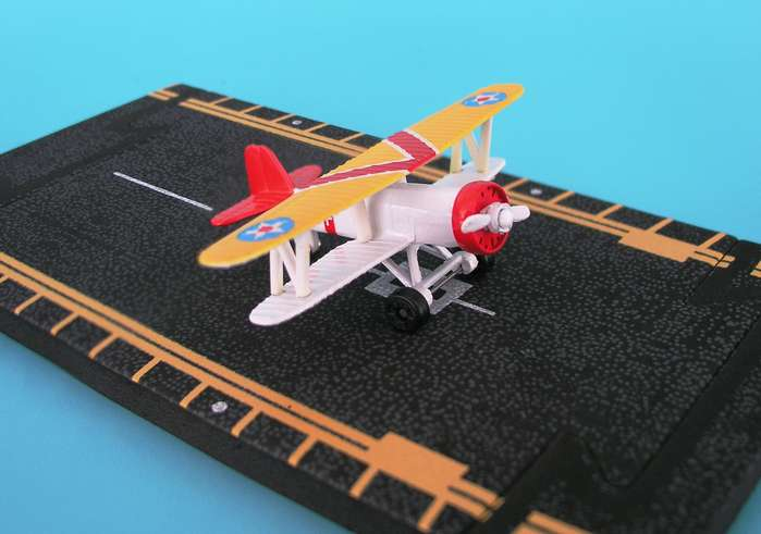 "F-4B Fire Fly (Approx. 5""), Hot Wings Toy Airplanes Item Number HW11113"