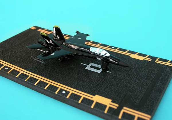 "F-18 Black (Approx. 5""), Hot Wings Toy Airplanes Item Number HW14145"