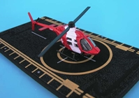 "Bell 206 Jetranger Life Flight (Approx. 5""), Hot Wings Toy Airplanes Item Number HW18002"