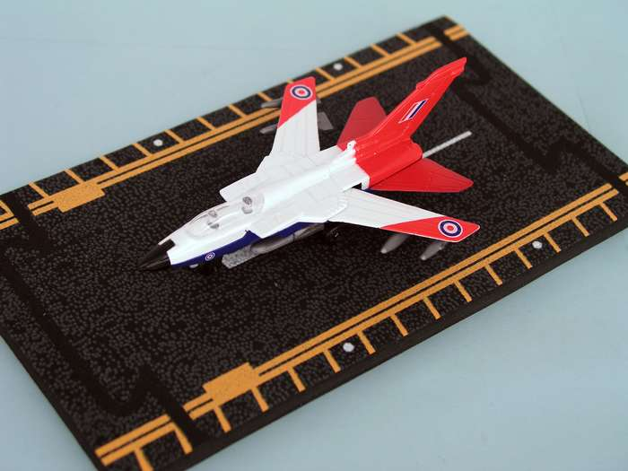 "Tornado Royal Air Force (Approx. 5""), Hot Wings Toy Airplanes Item Number HW14140"
